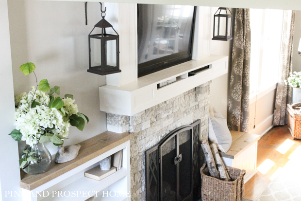 Airstone Fireplace Makeover: Brick Fireplace Makeover With AirStone