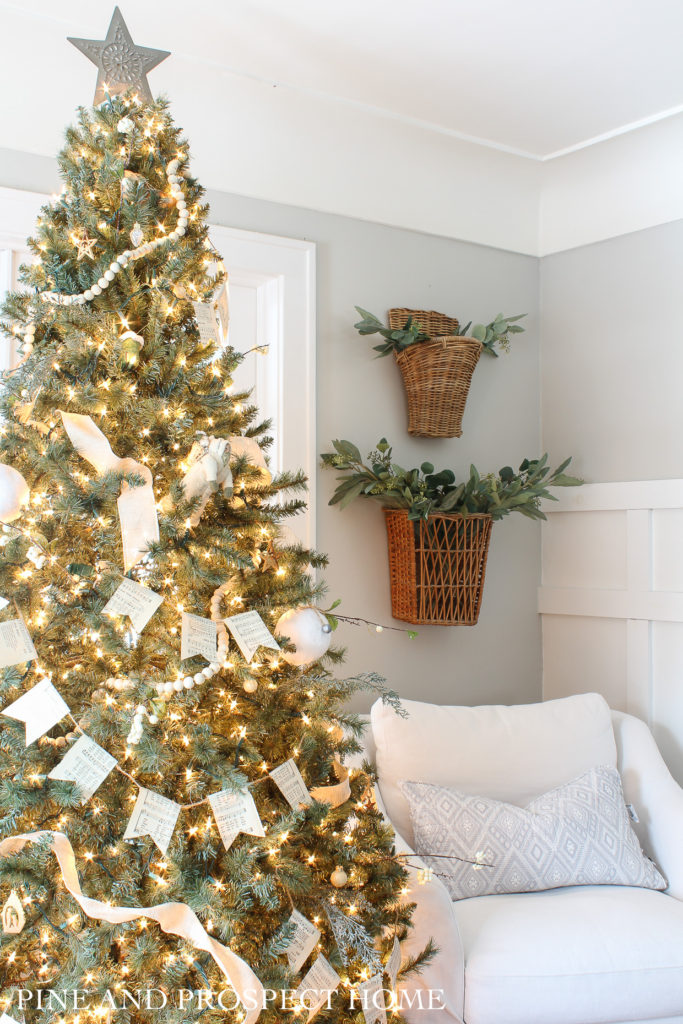 Cottage Style Christmas Home Tour Easy And Affordable Decor Pine And Prospect Home