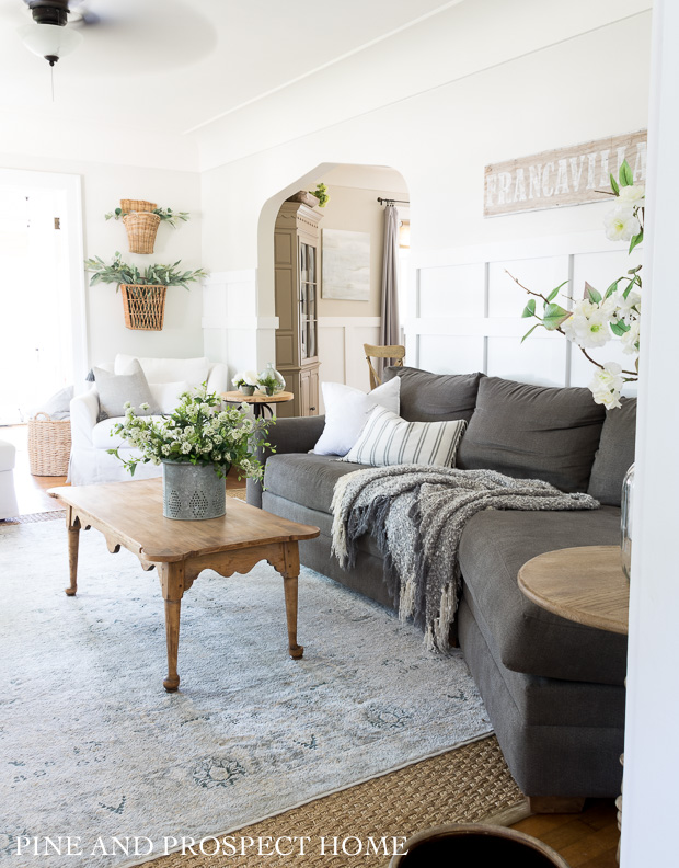 Relaxed cottage style